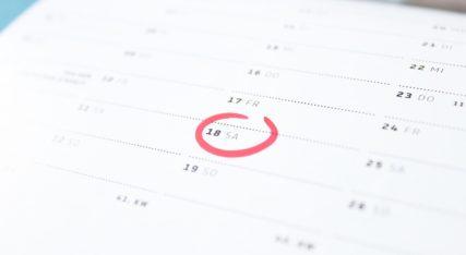 Calendrier de grossesse : obtenez votre calendrier de grossesse personnalisé